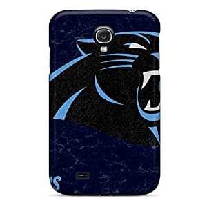 Samsung Galaxy S4 ZKS22315LNIU Custom High-definition Carolina Panthers Pictures Perfect Hard Cell-phone Case -ErleneRobinson
