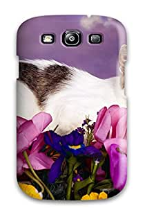 High Quality Lovely Cat Case For Galaxy S3 / Perfect Case