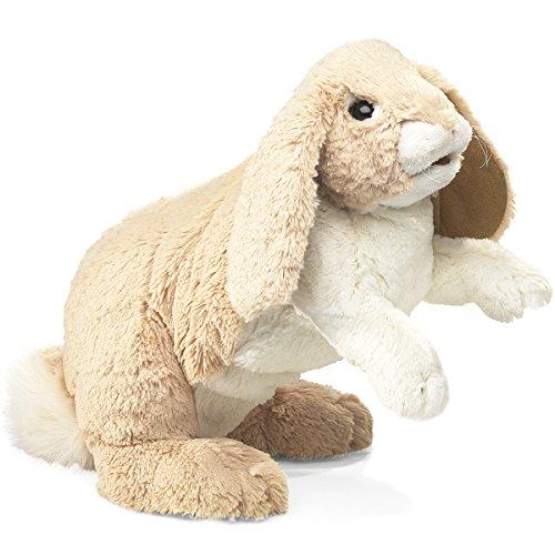Folkmanis Floppy Bunny Rabbit Hand Puppet ()