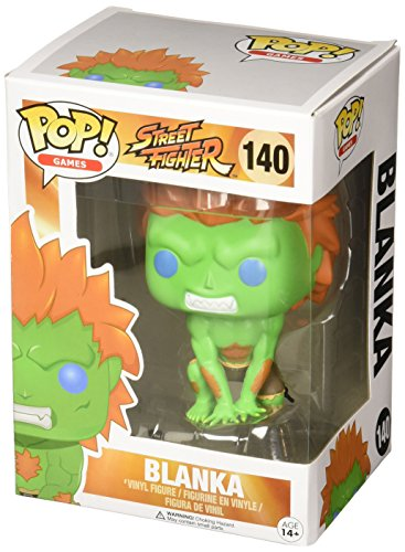 Funko Street Fighter Blanka Pop Games Figure