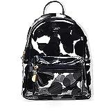 PVC Backpack School Backpack Outdoor Backpack Cute Knapsack Satchel,Waterproof/Lightweight