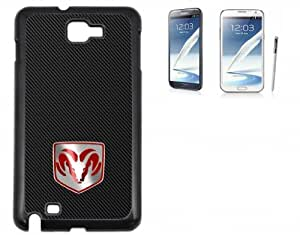 Samsung Galaxy Note 2 Hard Case with Printed Design Dodge