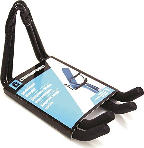 Crawford CMDH2-6 Multi-Tool Hanger Utility Hook, Black, 2-Pack