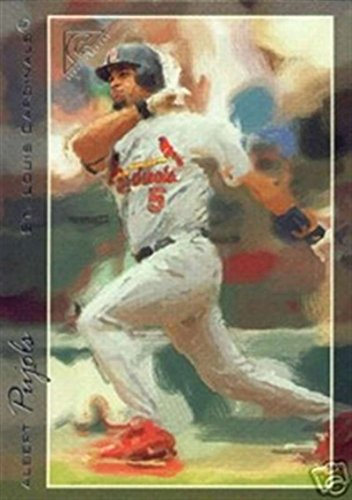 - 2005 Topps GALLERY St. Louis Cardinals Team Set ALBERT PUJOLS