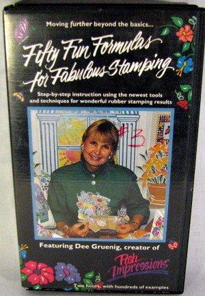 Fifty Fun Formulas for Fabulous Stamping Featuring Dee Gruenig (The Fabulous Fifties)