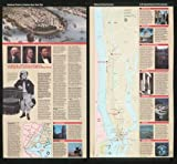 1997 Map National parks in greater New York City - Size: 24x24 - Ready to Frame - New York | New Yor