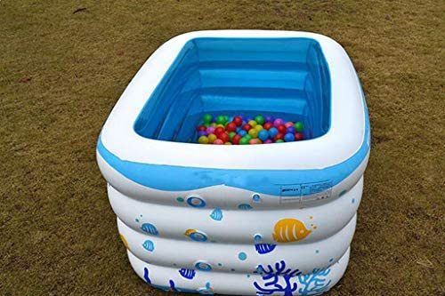 LYM & bañera Plegable Piscina Inflable del niño del niño, bañera ...