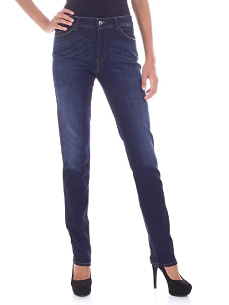 Armani Mujeres 18-j 5 Pocket Slim fit Pantalones Vaqueros ...