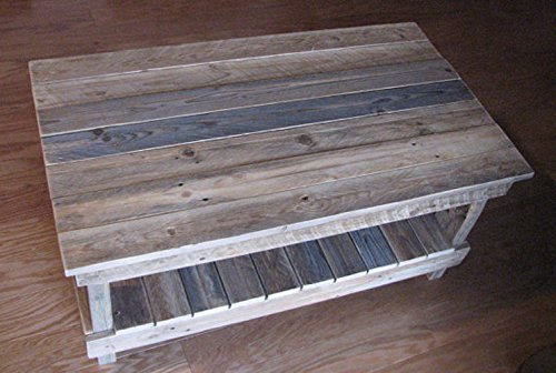 Admirable Reclaimed Plank Top Coffee Table Short Links Chair Design For Home Short Linksinfo