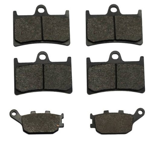 4 Piston Rear Brake Caliper - 2007-2009 Yamaha FZ6 (4 piston caliper) Front & Rear Brake Pads