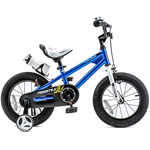 Kids freestyle bicycle with training wheels