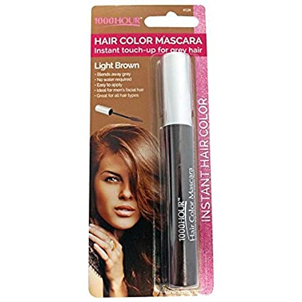Amazon.com: 1000 Hour Hair Color Mascara Temporary Hair Color ...