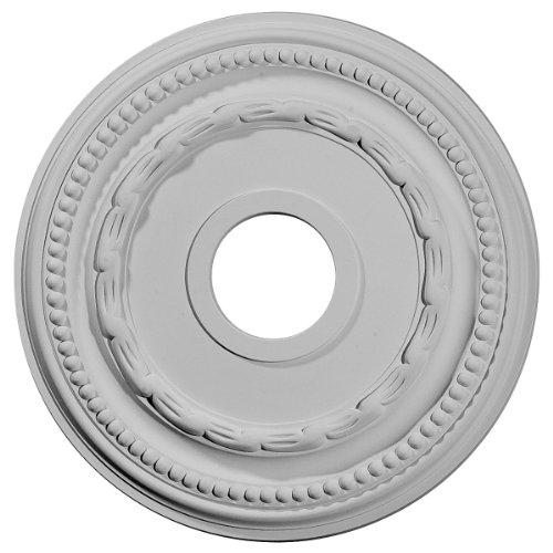 Ekena Millwork CM15FE 15 3/8-Inch OD x 3 5/8-Inch ID x 1-Inch Federal Ceiling Medallion by Ekena Millwork