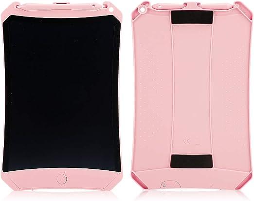 電子タブレットLCDライティングボード、LCDペインティングライティングボードドローイングパッド、子供向けギフト/家族書道練習(Pink)