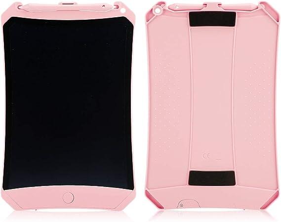タブレットLCDライティングボード、描画パッド、スマートLCDペインティングライティングボードLCD描画パッド書道練習子供/家族向けギフト(Pink)