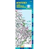 Monterey / Carmel / Pacific Grove CA Pearl ( Laminated Map)