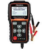 FOXWELL BT705 12V 24V Battery Analyzer 100-2000 CCA Automotive Car Battery Load Tester, Cranking and Charging System Test Scan Tool Digital Battery Tester for Cars and Heavy...