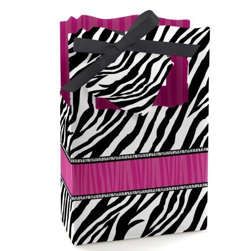 zebra baby shower favors - 6