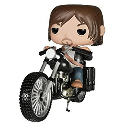 Funko POP Rides: Walking Dead - Daryl's Bike Action Figure: Funko Pop! Rides:: Toys & Games