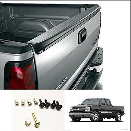 (Tailgate Spoiler for 1999-2006 Chevy Silverado GMC Sierra Pickup Truck Cap Protector)