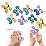LeSharp Magic Kits Accessories, Flying Butterfly Trick Magic Prop Transformation Toy Surprise Prank Classic Gift - Random Color