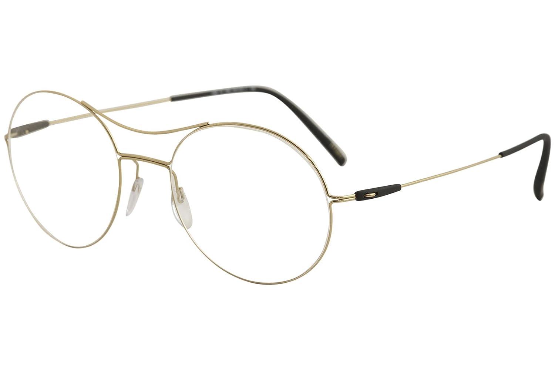 Eyeglasses Silhouette Dynamics Colorwave Full Rim 5508 3530 rose gold//crystal 50