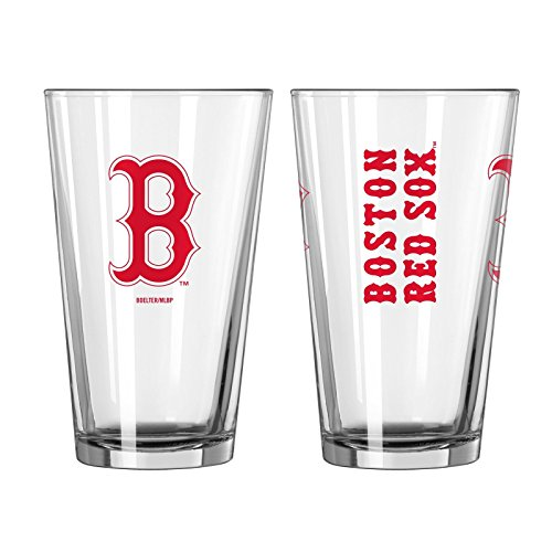 MLB Baseball Boston Red Sox 16 Ounce Gameday Pint Glass ()