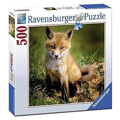 Ravensburger 15237 Puzzle Quadrato Volpe 500 Pezzi