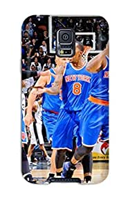 new york knicks basketball nba NBA Sports & Colleges colorful Samsung Galaxy S5 cases 3817077K642364177