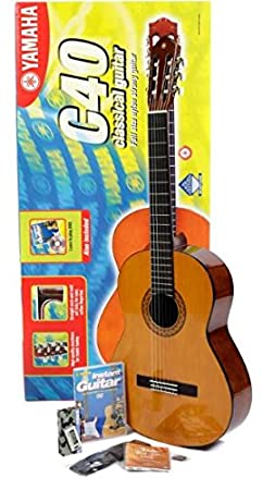Yamaha - Guitarra clásica (con set para principiantes): Amazon.es ...