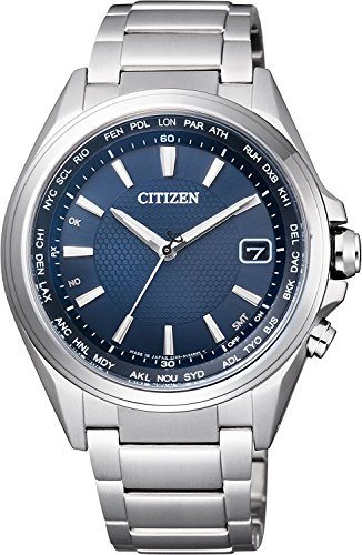 CITIZEN watch ATTESA Atessa direct flight needle display type World Time Eco-Drive Eco-drive radio CB1070-56L Men's (Watch 56l)