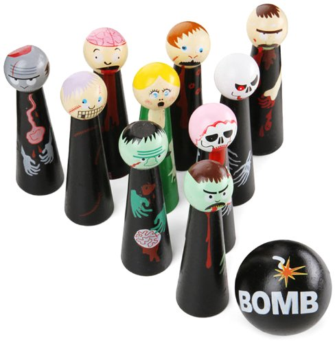 Bowling Zombies is a strange kids toy
