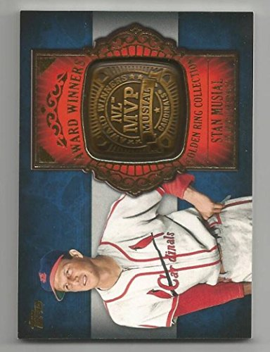 pps Golden Ring Collection Award Winners #GAR-SM Stan Musial #GAR-SM NM ()