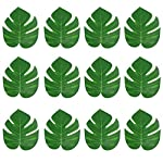 84FT-Artificial-Vines-with-Leaves-Fake-Ivy-Foliage-Flowers-Hanging-Garland-12PCS-Individual-Strands-plus-12PCS-Faux-Monstera-Tropical-Palm-LeavesHome-Party-Wall-Garden-Wedding-Decors-Indoor-Outdoor
