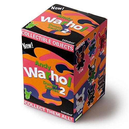 Vinyl Kidrobot Figure (One Blind Box Andy Warhol Series 2 Dunny Designer Vinyl Mini Figure By Kidrobot)