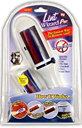 Lint Wizard Pro with Bonus Travel Size Lint Wizard