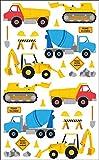 Mrs Grossman Construction Stickers, 3 Pack, Styles