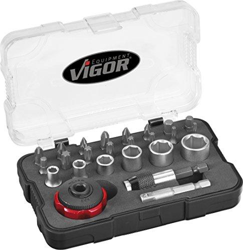 Vigor Bit-Box mit Fingerratsche, V2834