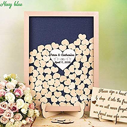 Navy And Blush Wedding.Amazon Com Guestbook Marthafox Navy And Blush Wedding Guest Book