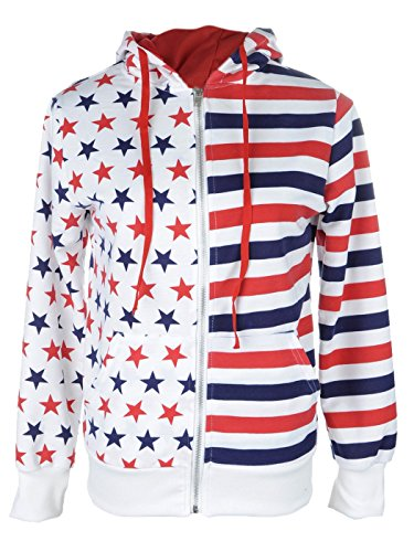 Anna Kaci Womens American Stripes Sleeve product image
