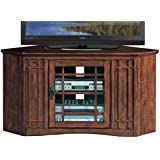 Leick Mission 46 Corner TV Stand - Mission Oak