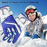YR.Lover Children Ski Gloves Winter Warm Outdoor