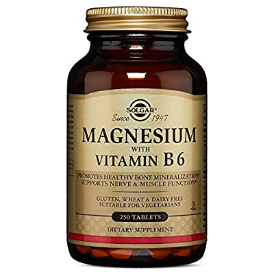 Solgar – Magnesium with Vitamin B6 Tablets