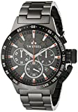 Tw Steel TW313 Reloj para Hombre, Redondo, color Negro