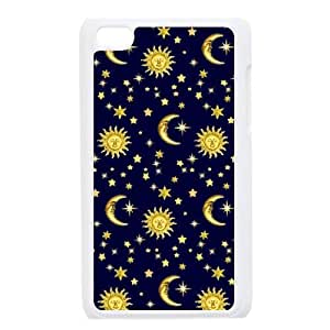 Sun Moon Space Nebula Design Discount Personalized Hard Case Cover for iPod Touch 4, Sun Moon Space Nebula iPod Touch 4 Cover