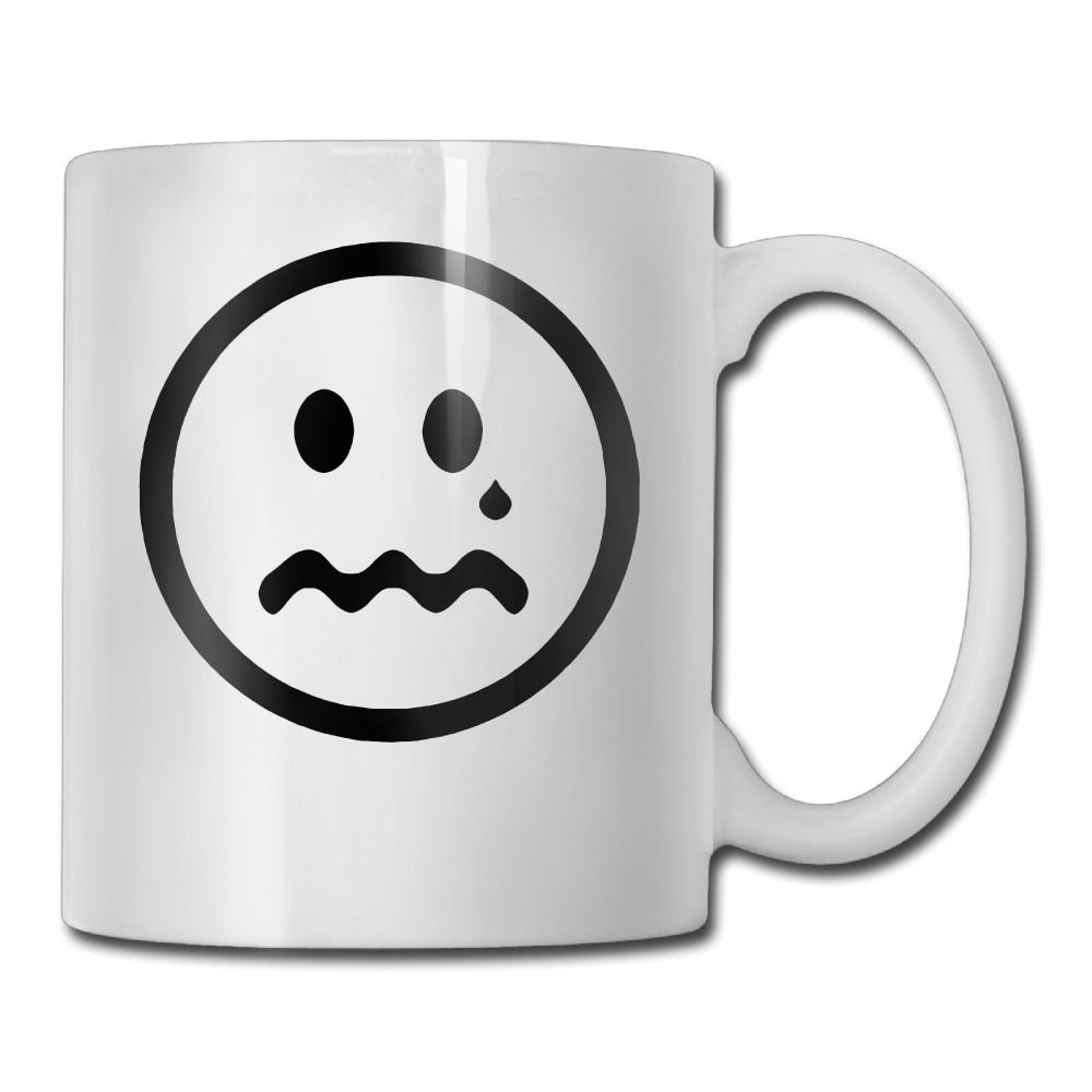 Amazon Funny Quotes Mug With Sayings Crying Unhappy Smiley