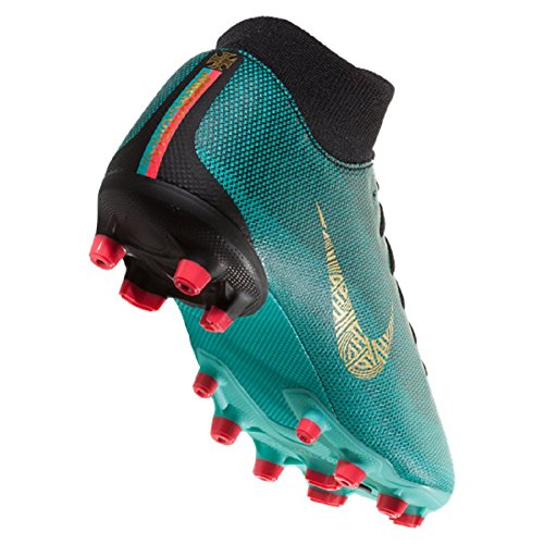 NIKE Jr. Superfly 6 Academy GS CR7 MG Clear Jade/Metallic Gold SZ 5Y - Image 3