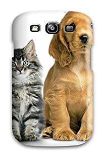 Herbert Mejia's Shop Excellent Design Cat And Dog Phone Case For Galaxy S3 Premium Tpu Case