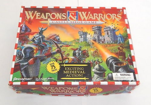 WEAPONS & WARRIORS CASTLE SIEGE GAME