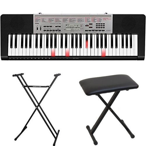 Casio LK-190 61-Key Portable Keyboard With Stand & Bench
